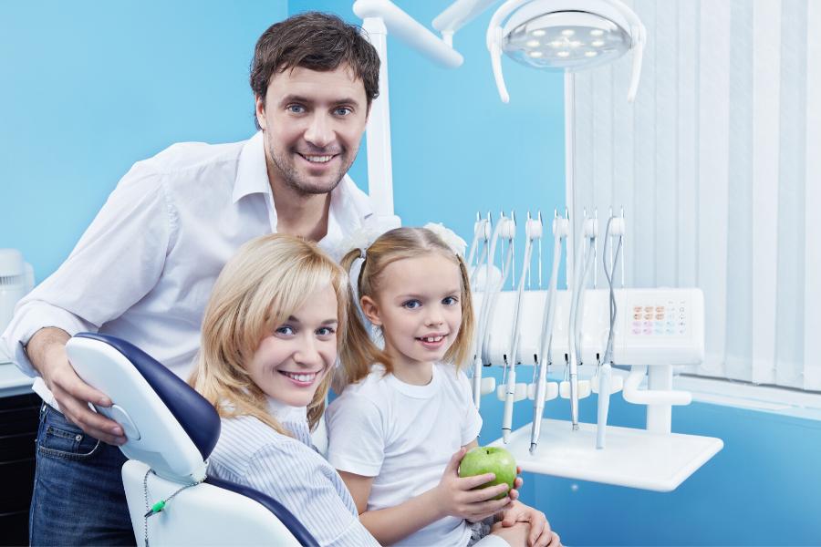 Dentista en familia